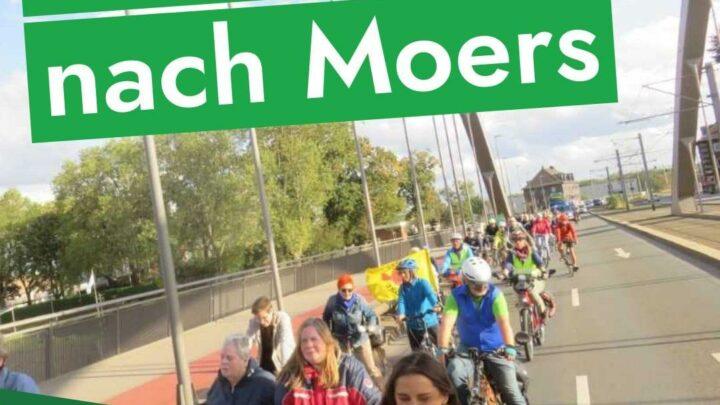 Fahrraddemo nach Moers am 26.06. Startpunkt: Duisburg 15:30