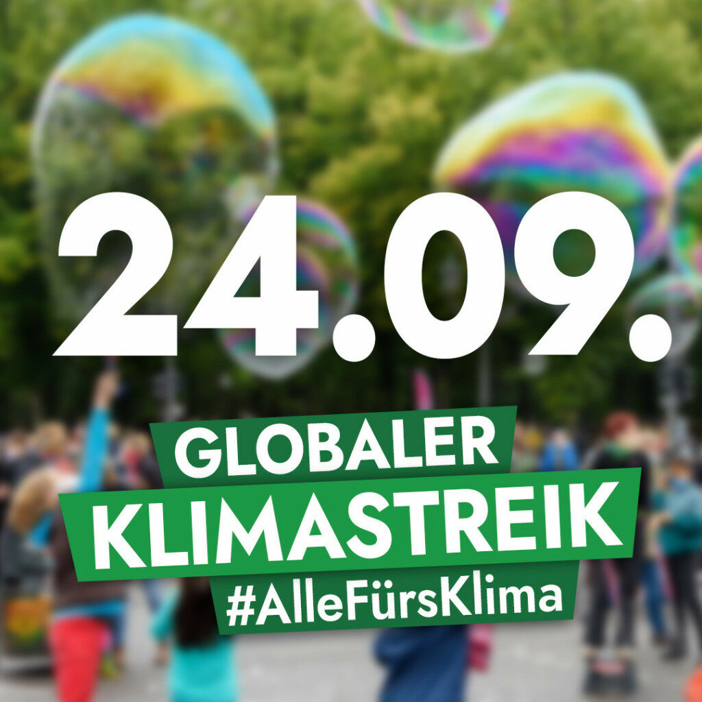 24.09. Globaler Klimastreik #AlleFürsKlima